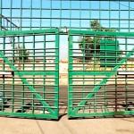 Brazo hidráulico para portón batiente