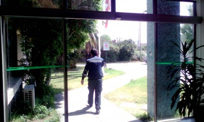 Puertas Automáticas instaladas en la empresa UPC