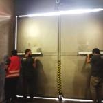 Brazos hidráulicos Lau instalados en Duoc UC Almeda