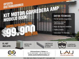 Oferta Motor Corredera AMP 800k